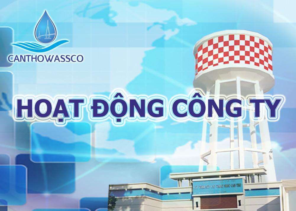Vùng phục vụ cung cấp nước sạch Cty CP Cấp thoát nước Cần Thơ